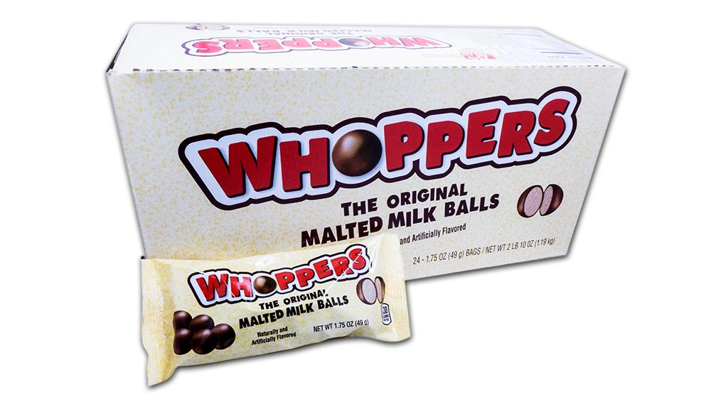 Whoppers 1.75oz Bag 24 Count Box