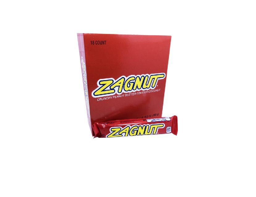 Zagnut 1.75oz Bar or 18 Count Box