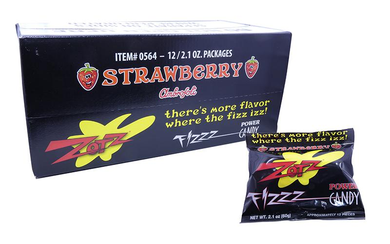 Zotz Strawberry 2.1oz Pack or 12 Count Box Discontinued