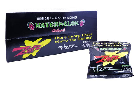 Zotz Watermelon 2.1oz Pack or 12 Count Box