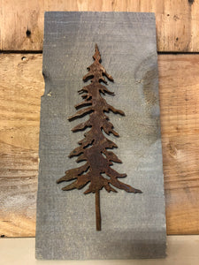 Single Tree (Mounted)