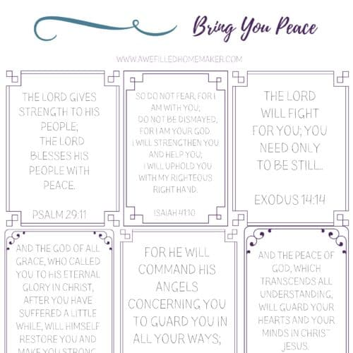 6 Bible Verses To Bring Peace