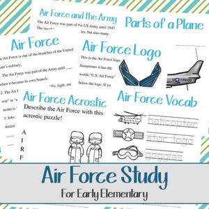 Air Force Unit Study (Early Elementary)