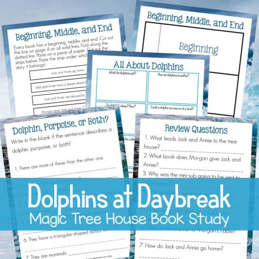 Dolphins at Daybreak (Magic Treehouse Unit Study)
