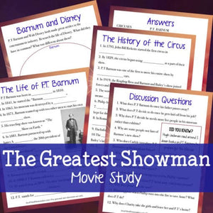 The Greatest Showman Movie Study