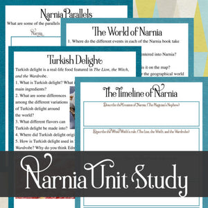 Chronicles of Narnia Unit Study