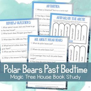 Polar Bears Past Bedtime (Magic Treehouse Study)