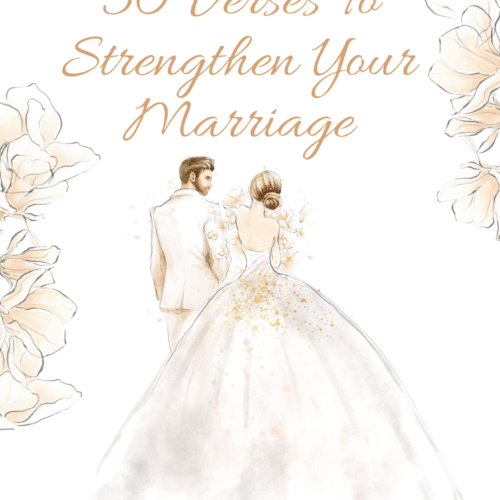 30 Verses To Strengthen Your Marriage Journal
