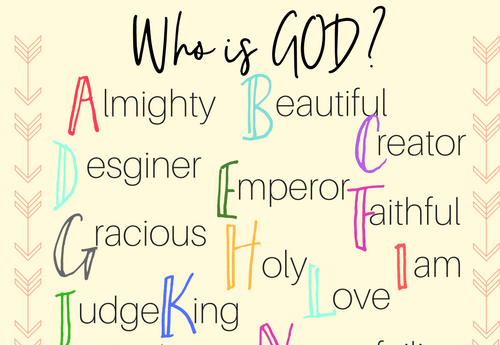 Who is God, Journal Through The Bible