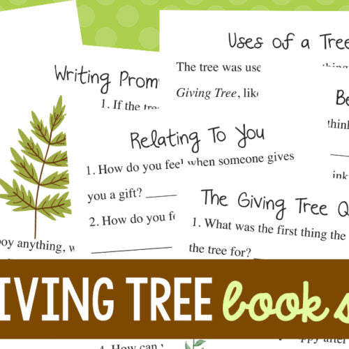 Giving Tree Book Study