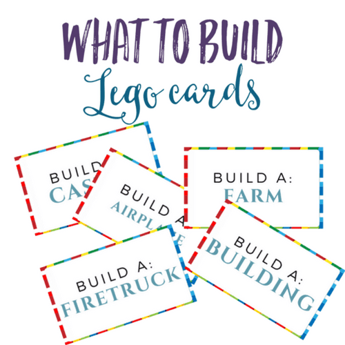 What To Build Lego Printable