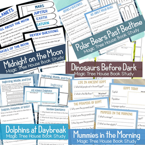 Magic Treehouse Unit Studies Bundle