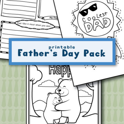 Printable Father's Day Pack