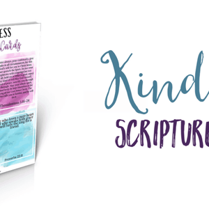 Kindness Scripture Cards