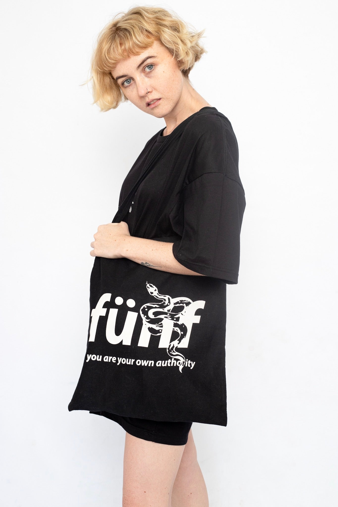 Saku Tote Bag Black