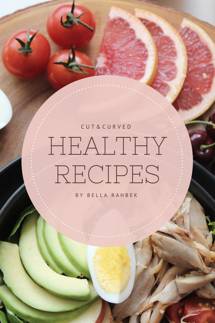 Cut&Curved Healthy Recipe Cookbook