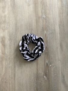 Zebra // Hair Scrunchie