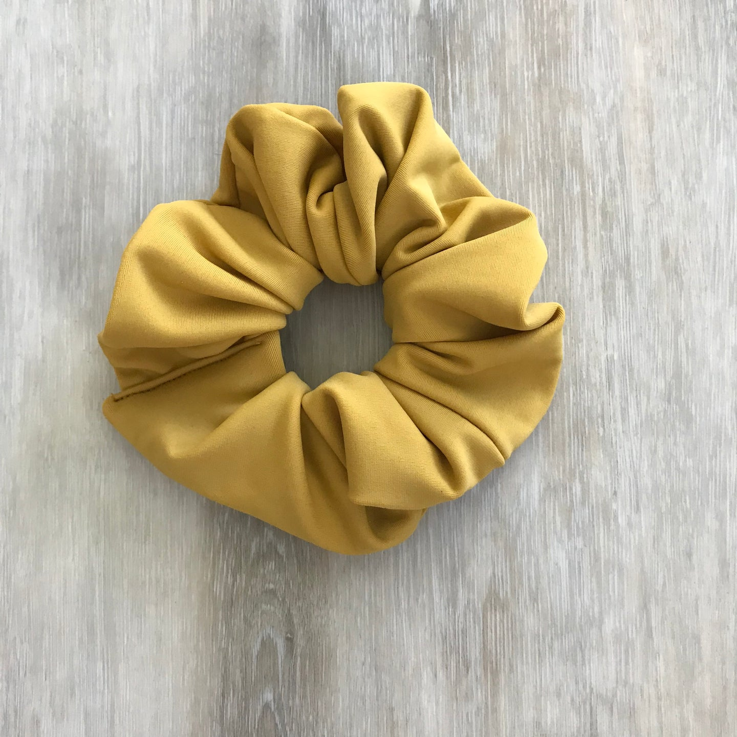 Mustard // Hair Scrunchie