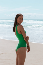 Load image into Gallery viewer, Olivia Swimsuit // Emerald PRE-ORDER
