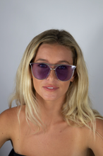 Load image into Gallery viewer, Purple Harper Sunglasses