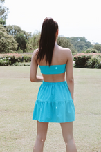 Load image into Gallery viewer, Tiered Skirt // Azure Butterfly