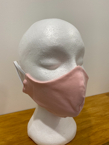 Baby Pink Face Mask