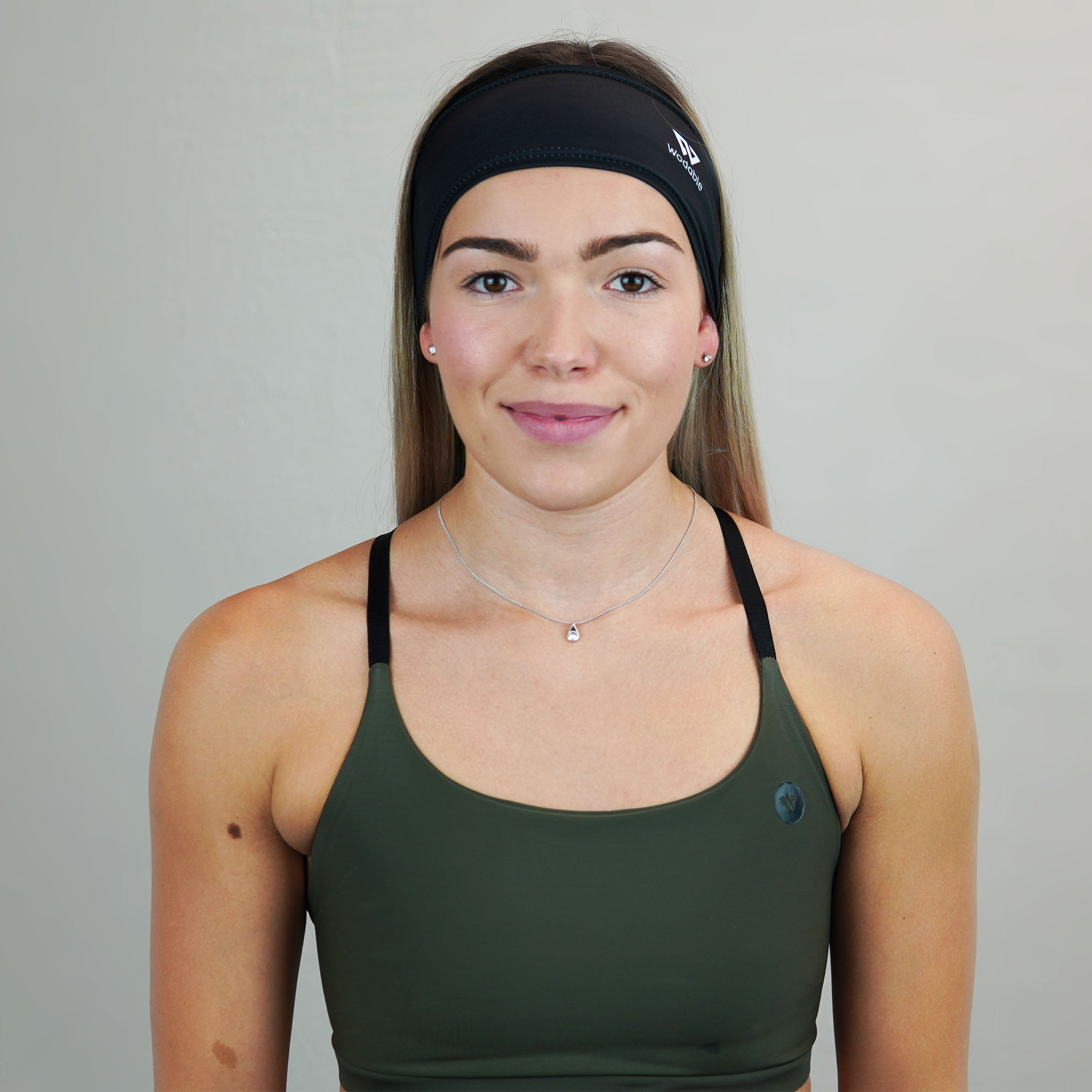 All Black Headband