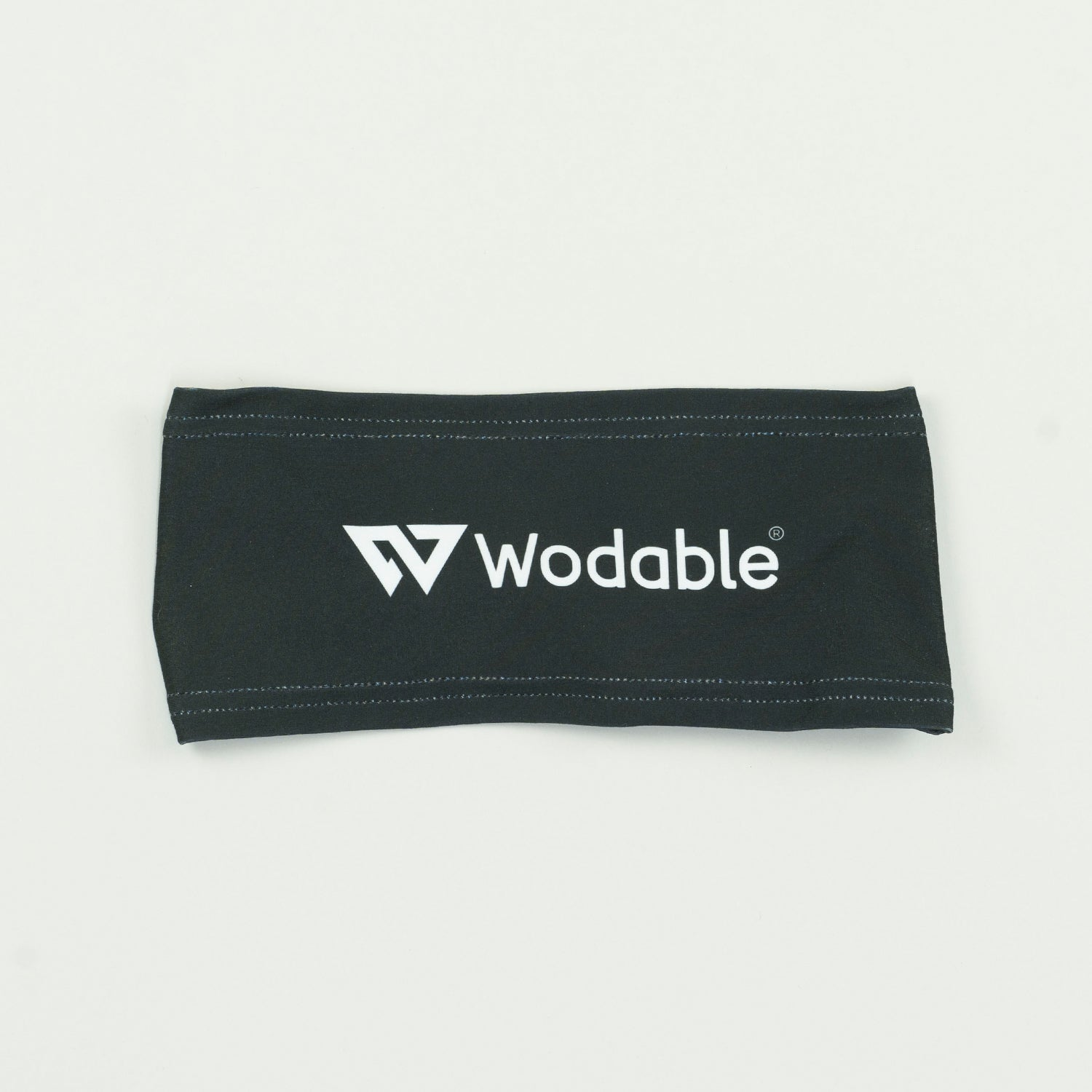 Black Logo Woolly Headband *SAMPLE SALE*