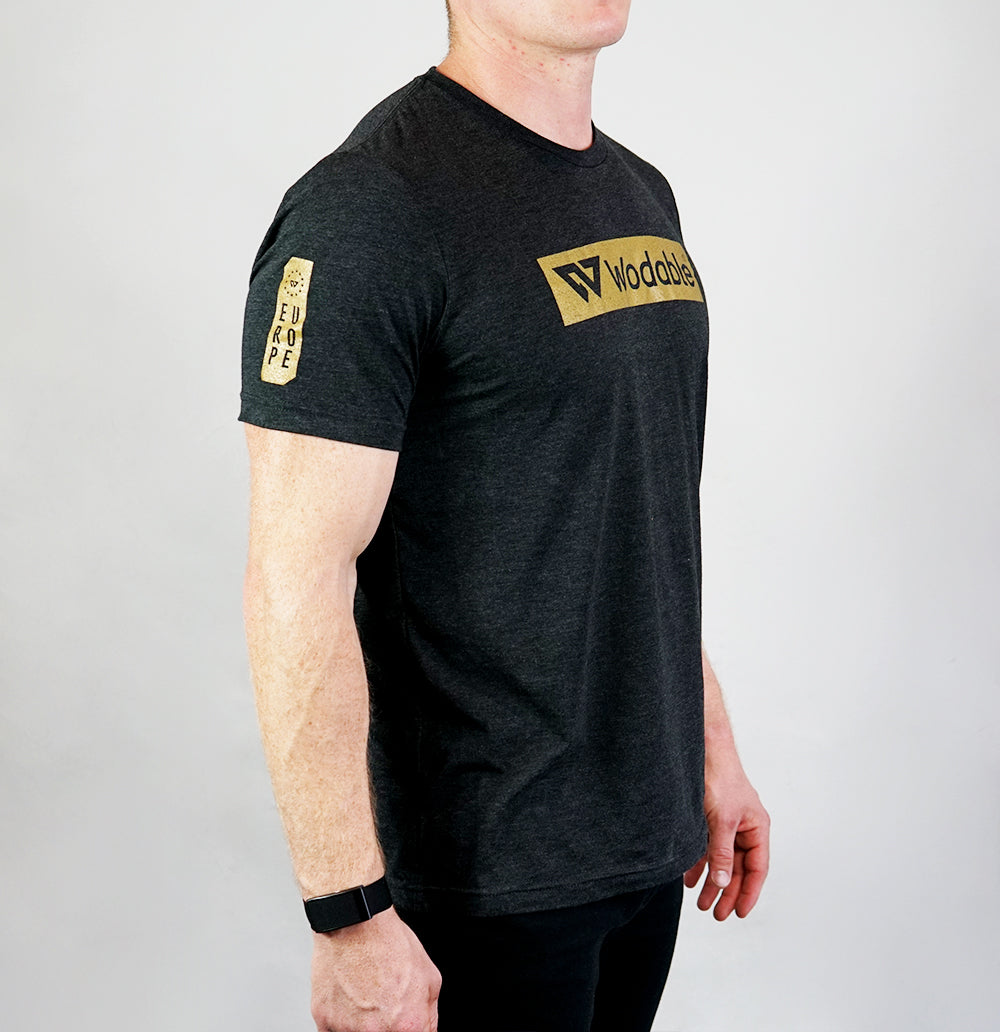 Black & Gold T-shirt