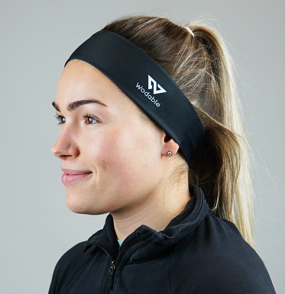 Black Thin Headband