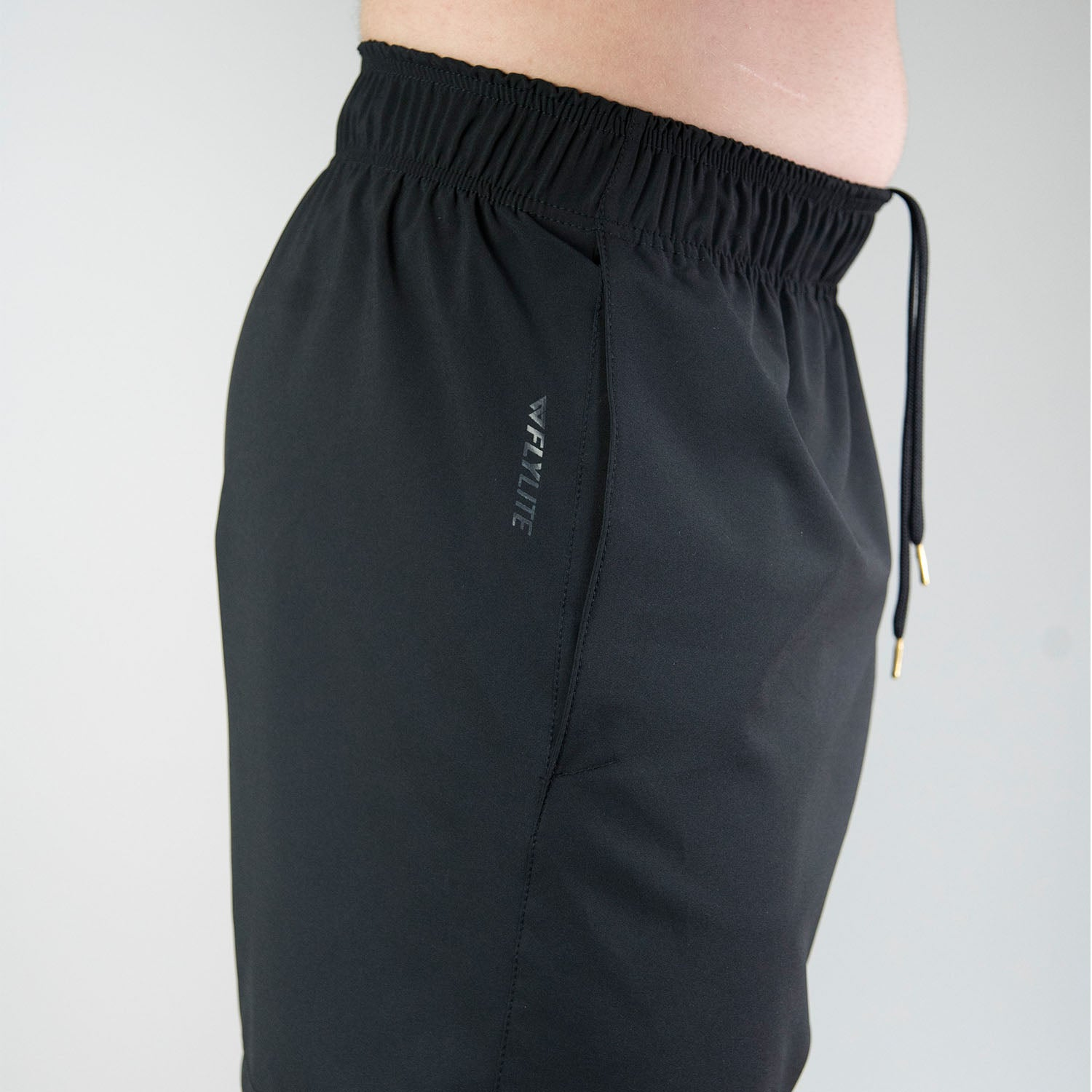 Flylite Shorts - Black On Black