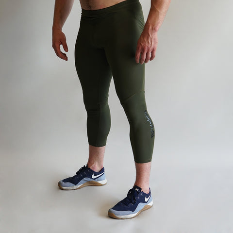 CL18 Compression 3/4 Pant Khaki