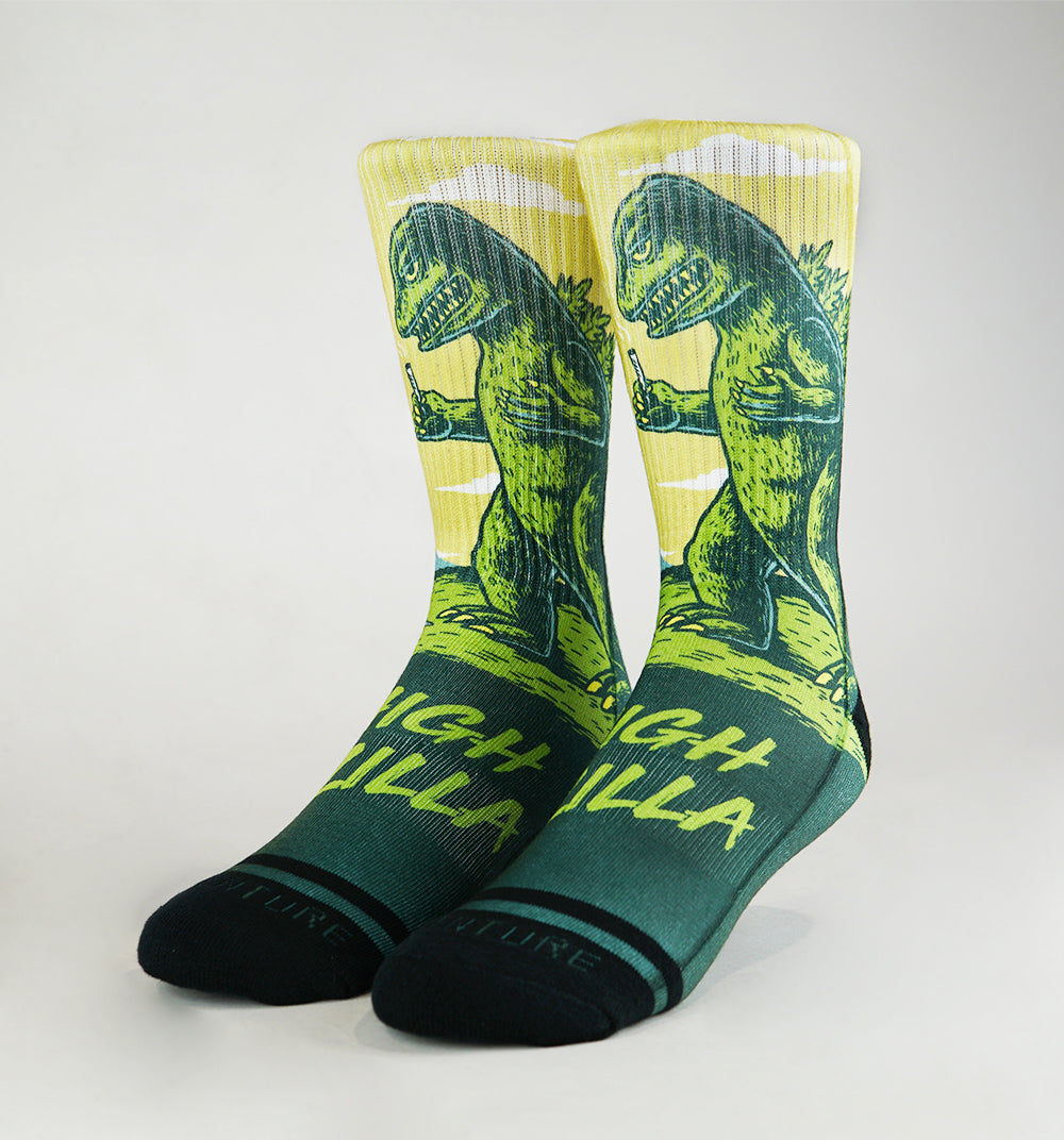 Highzilla Socks