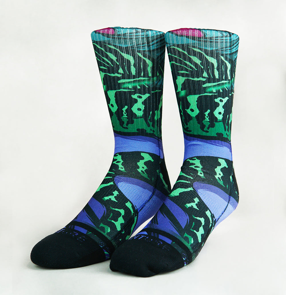 Jungle Snake x Skorp Socks