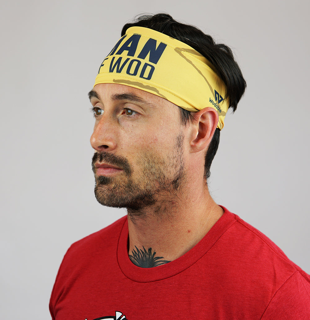 Man Of WOD Headband