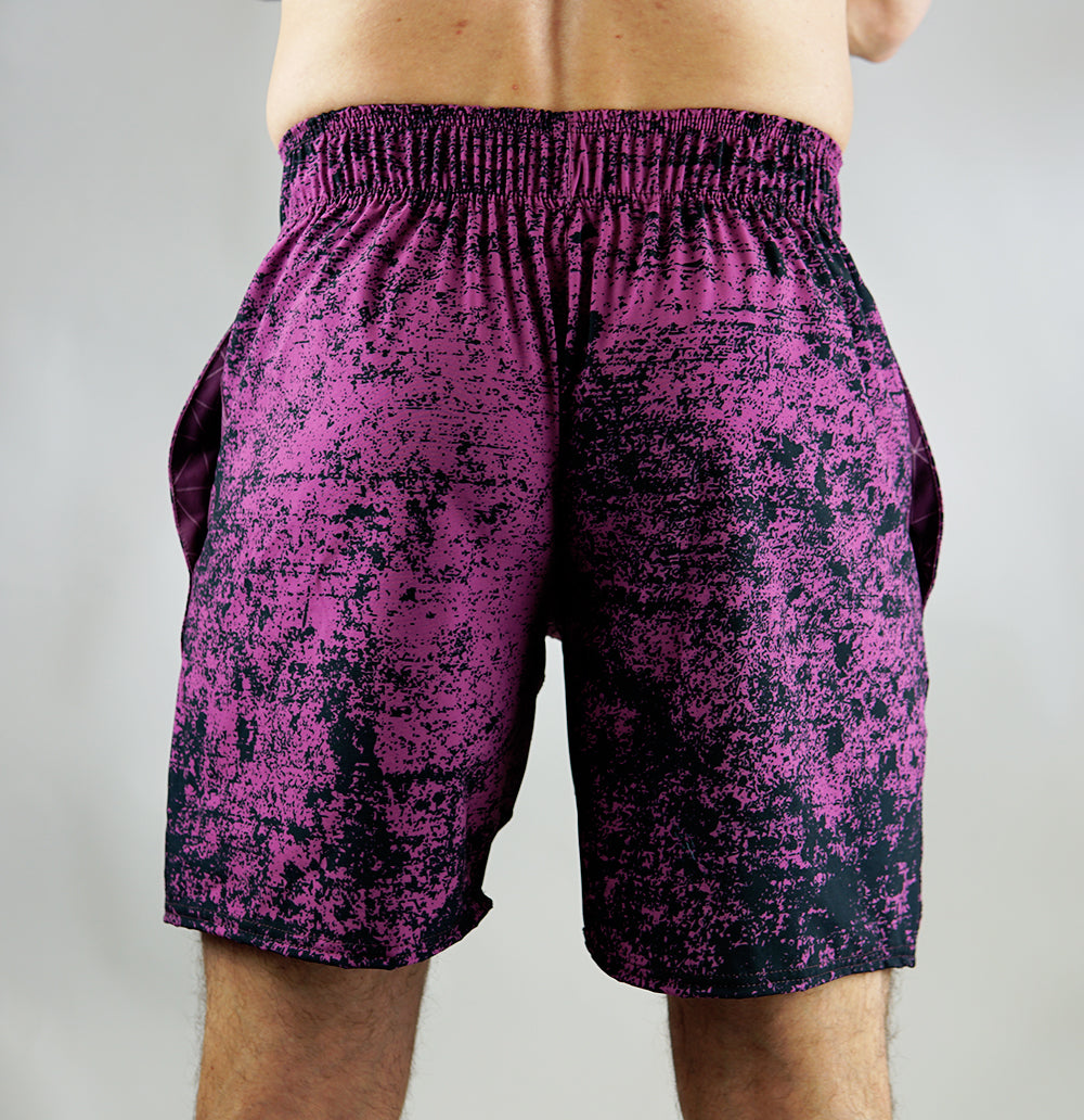 Purple Acid Training Shorts