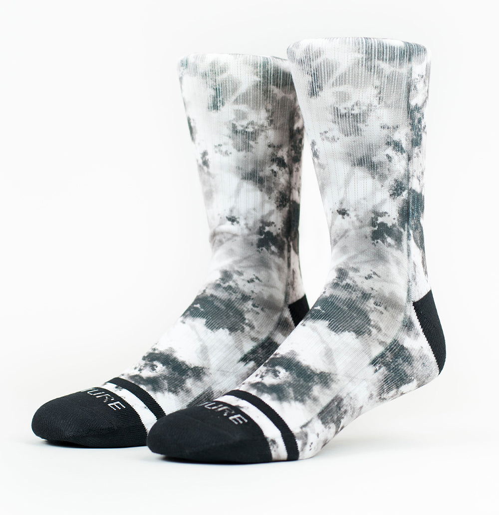 Twisted Tie Dye Socks