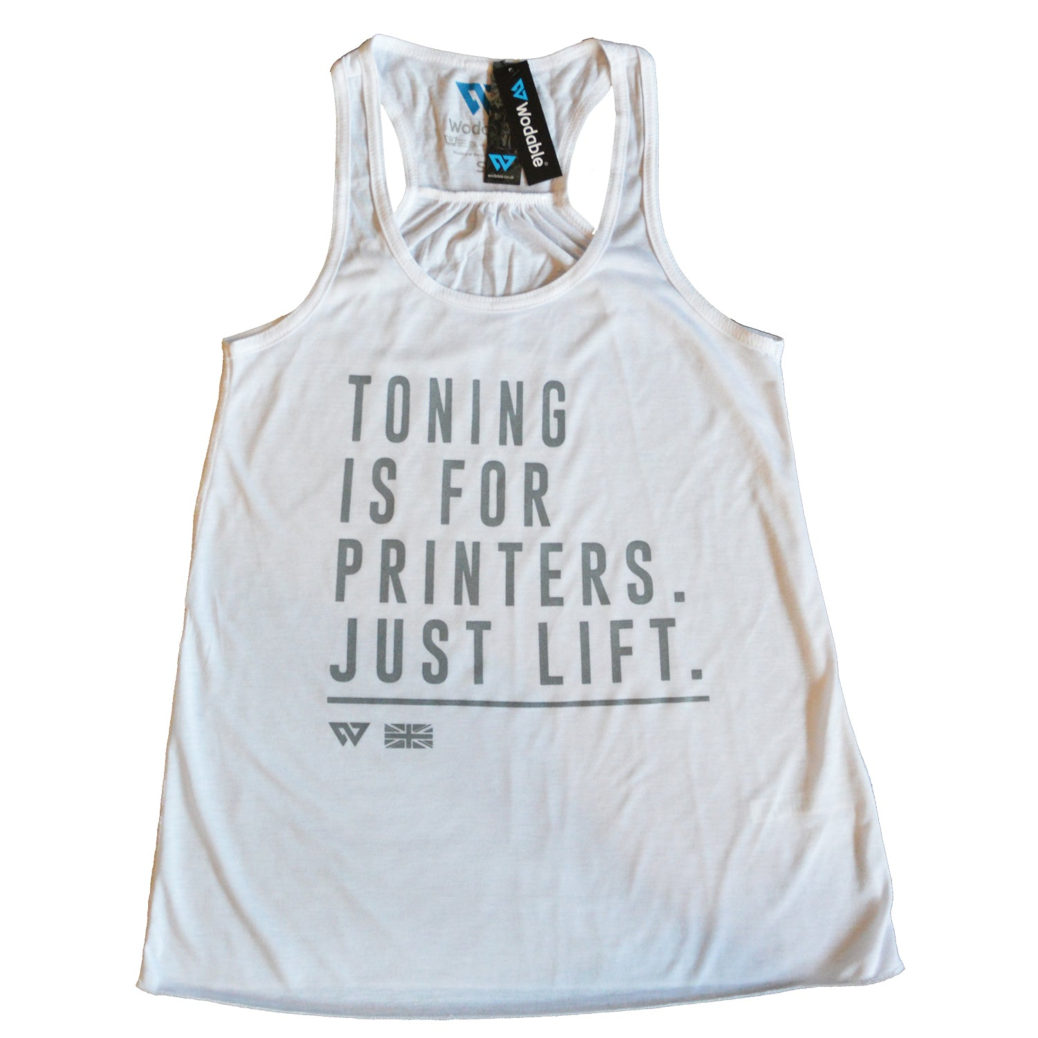 Toning For Printers Racer Vest