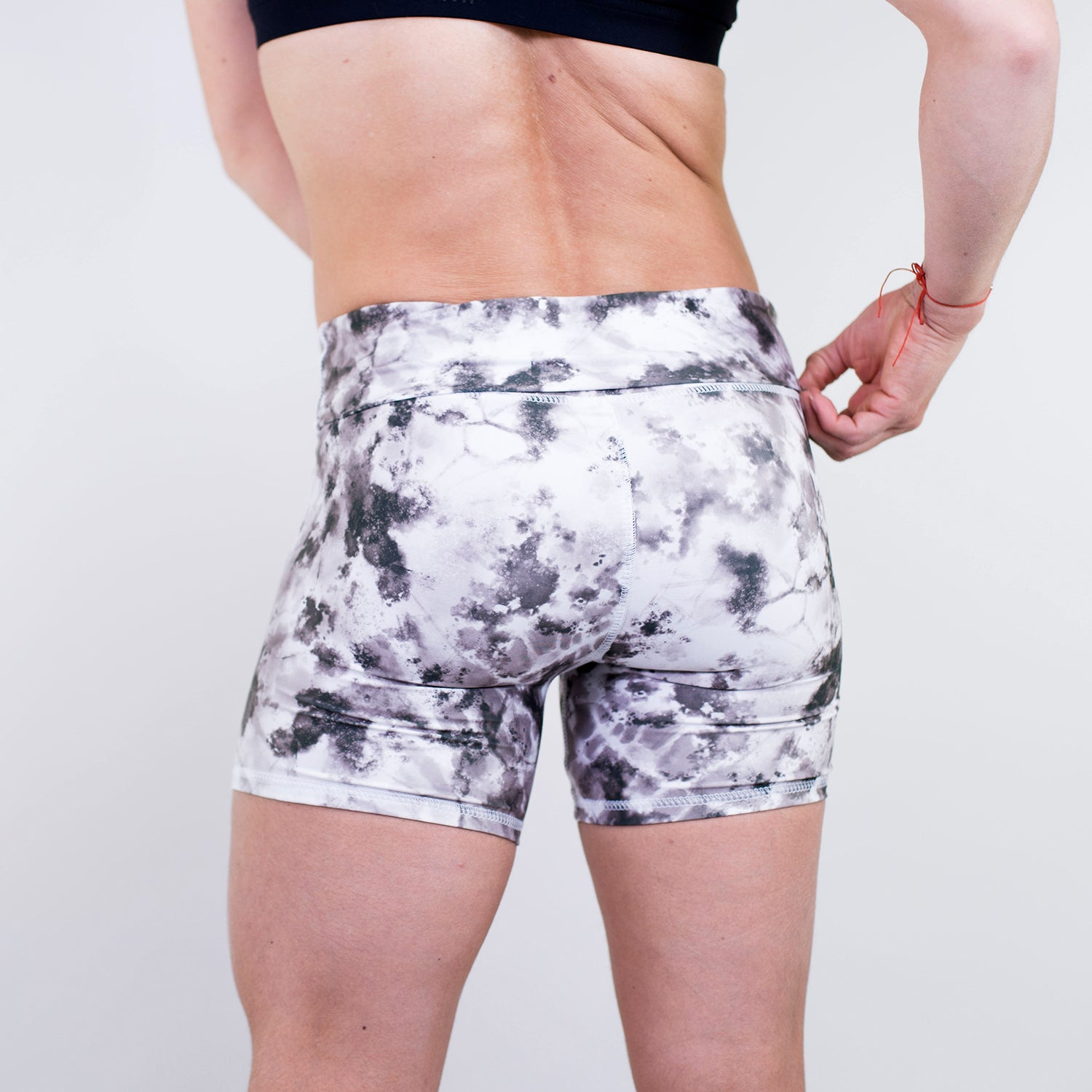 Twisted Tie Dye Shorts