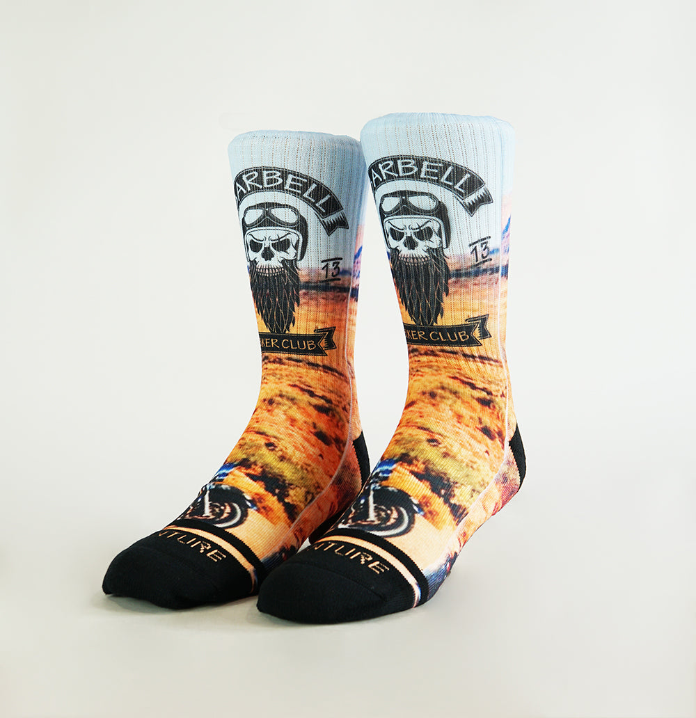 BARBELL BIKER SOCKS