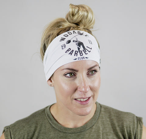 Barbell Club Headband