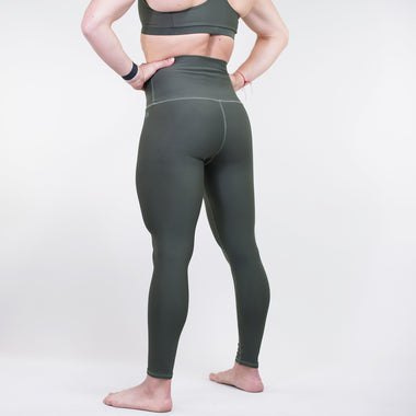 Khaki Performance Leggings