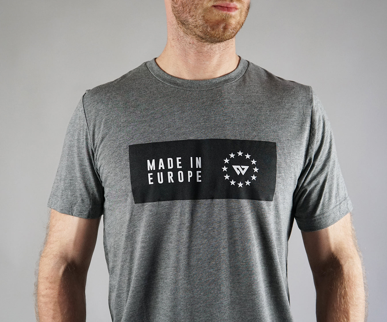 Made In Europe T-shirt - Grey