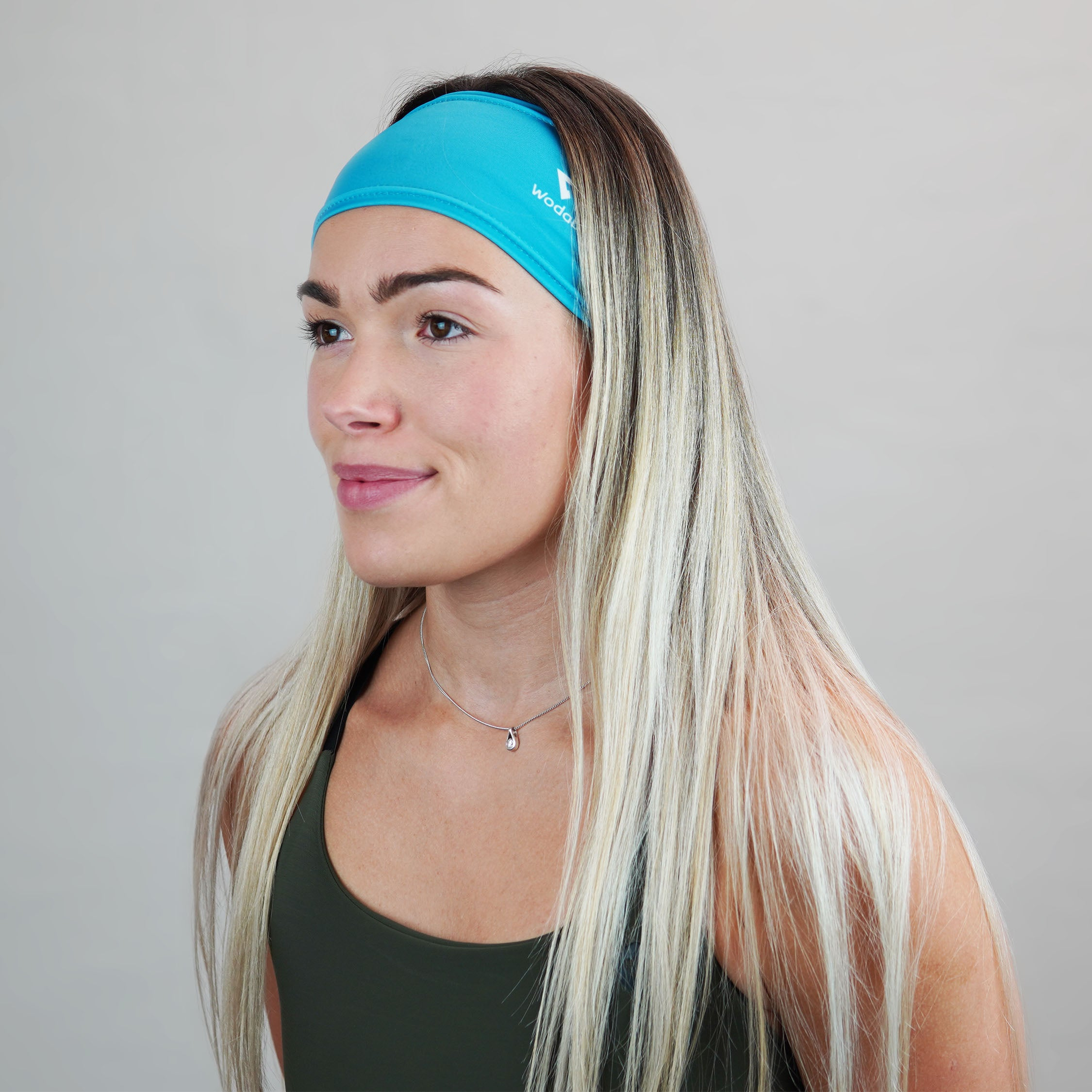 Process Blue Headband