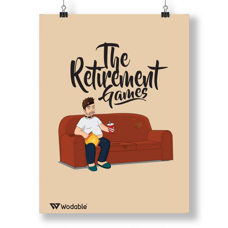 The Retirement Games Poster - Froning