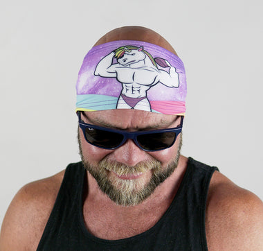 Jacked Unicorn Headband - Universe