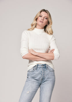 Saint Germain Knit - Crisp Ivory