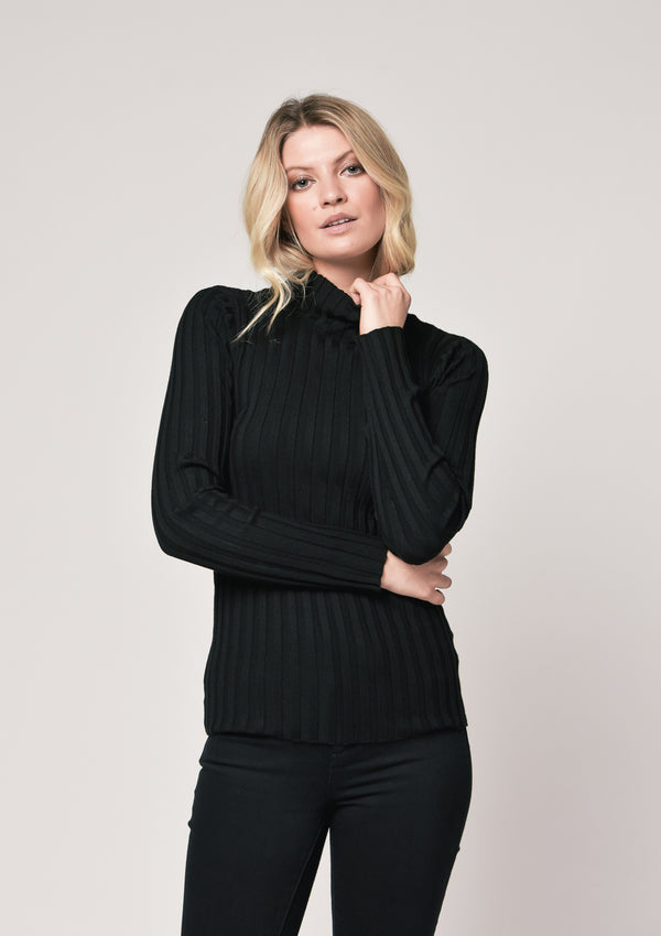 Saint Germain Knit - Noir Black