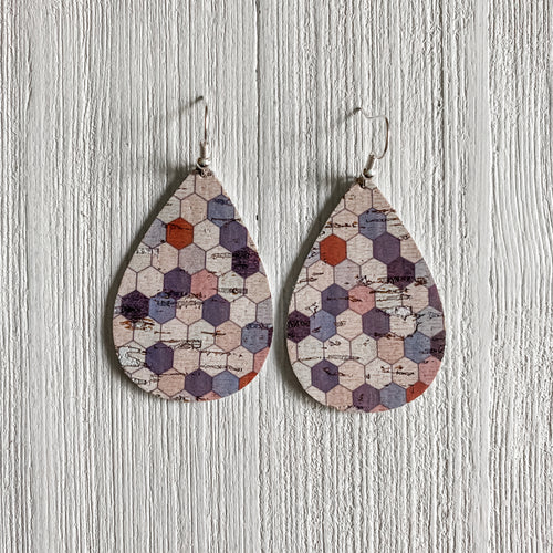 NEW! Freedom Leather Earrings - May Featured FLD