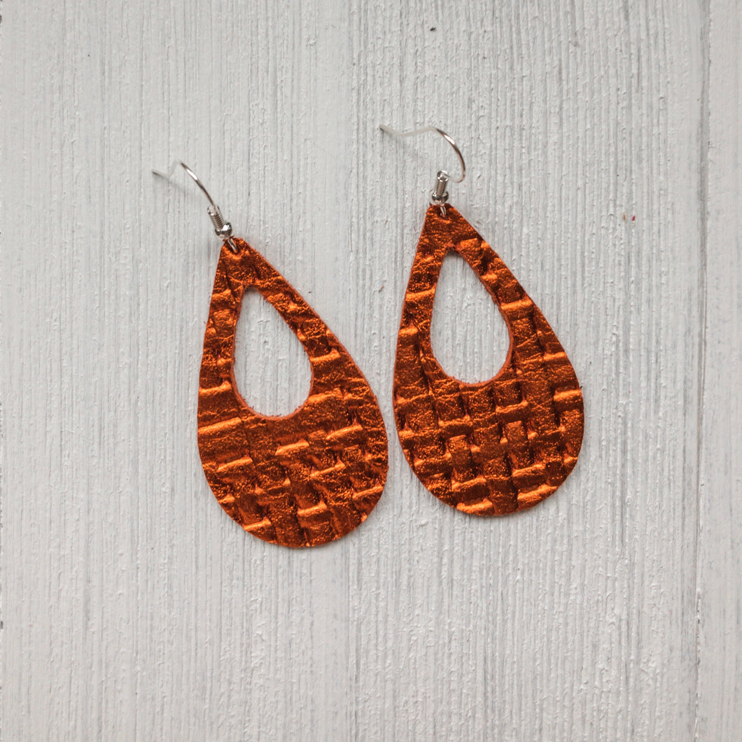 Hope Leather Earrings - 2020 Edition